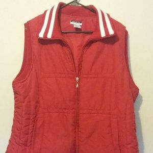 Vintage Large LESLIE FAY Sleeveless Puffy Vest